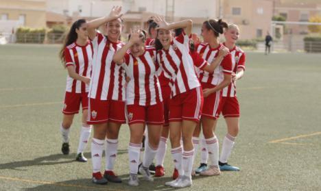 4-0: El Almería Femenino consigue su tercera victoria consecutiva en la Liga