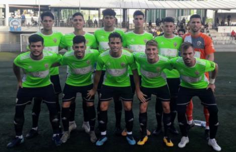 2-1: El filial del Almería sufre tres expulsiones en su partido en El Palo