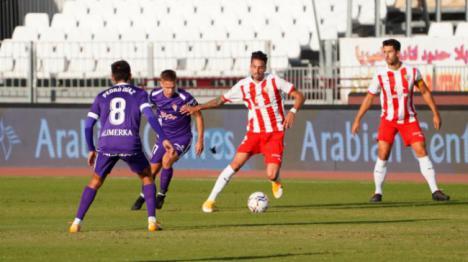 0-1: Al Almería se les resiste el gol frente al Sporting de Gijón