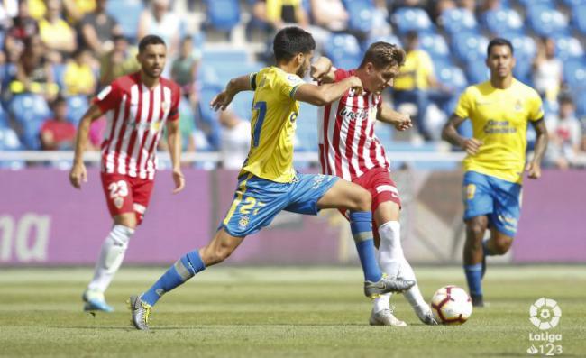 0-0 El Almería se trae un punto de Gran Canaria