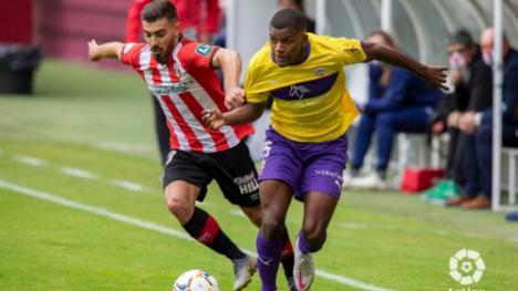 1-0: El Almería abatido en Las Gaunas