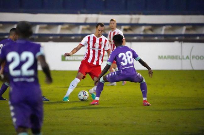 0-2: Exigente primer test de la pretemporada para el Almería
