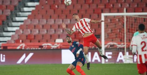 0-1: El Almería juega bien pero cae ante el Sevilla en la Copa del Rey