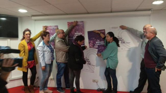 Unidas Podemos sale 'a ganar' en Almería
