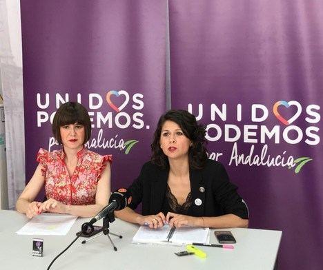 Unidos Podemos de Almería presenta 15 enmiendas por 300 millones de euros a los PGE