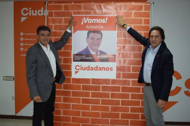 """Miguel Cazorla: """"Ciudadanos sale a ganar"""""""
