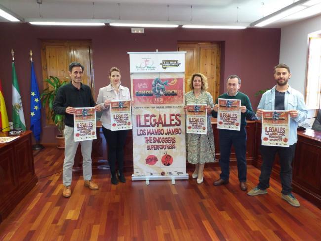 Ilegales, cabeza de cartel del 32º Candil Rock de Huércal de Almería