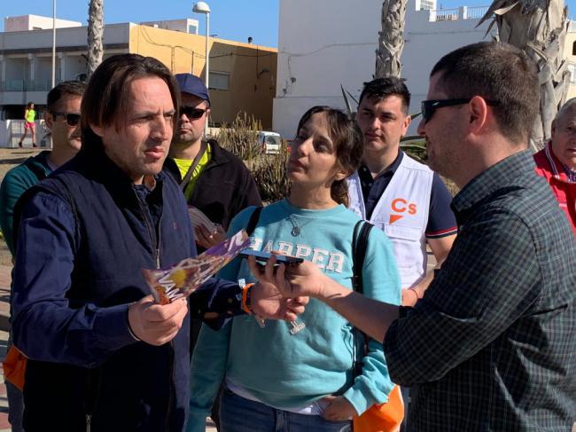 Ciudadanos dice que la indolencia del bipartidismo ha llevado al déficit de infraestructuras de Almería