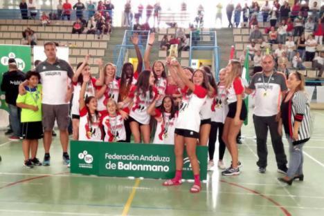 El balonmano de Almería es campeón de Andalucía en femenina y subcampeón en masculino