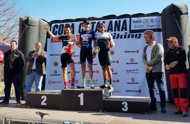 Anton Sintsov estrena su casillero de victorias en Corró d'Amunt
