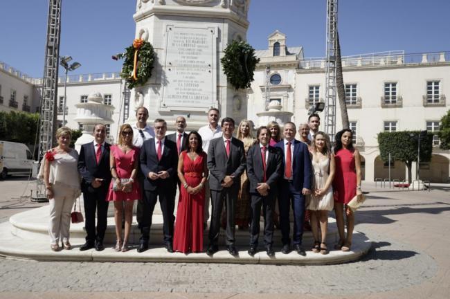 Villegas (Cs) vuelve a Almería por primera vez desde que es diputado por ella