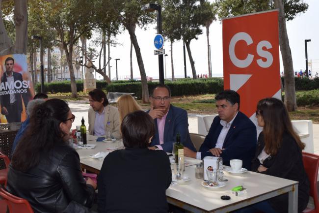 Vicente García apunta a los autónomos como prioridad de Ciudadanos