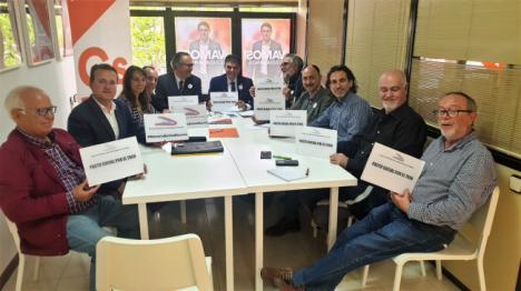 Ciudadanos escucha a la Mesa del Ferrocaril a la que no ha llamado ni PP ni PSOE