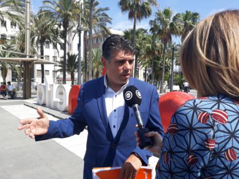 Cs lamenta que el Ayuntamiento de Almería es una de las 'administraciones entorpecedoras' del Defensor del Pueblo