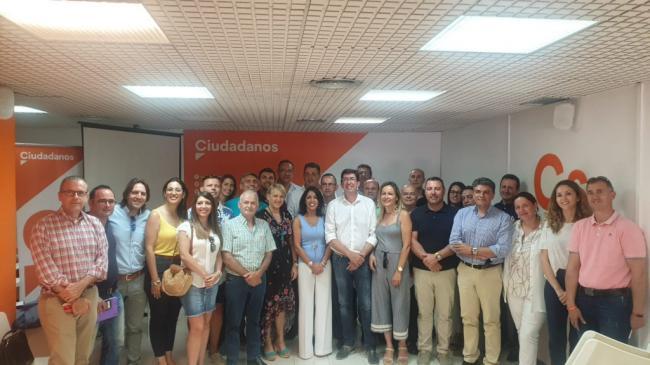 Marín reconoce que desconoce los términos del acuerdo con entre Cs y el PSOE en Huércal Overa