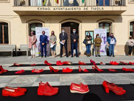 Ayuntamientos de Cs en Almería muestran su rechazo a la Violencia Machista