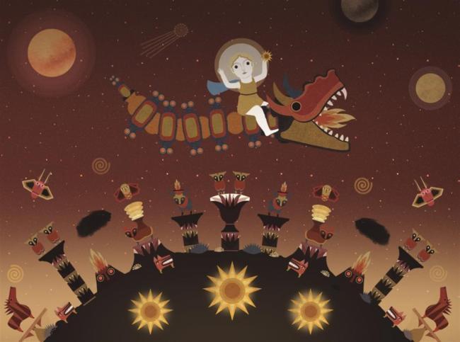 'Astrº, un videojuego mitológico' de arte digital en el Museo Arqueológico
