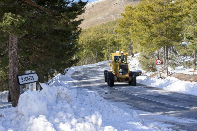 Diputación activa el protocolo invernal para el mantenimiento de la Red Provincial de Carreteras