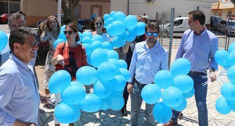Globos azules para el PP de El Ejido