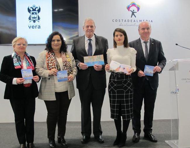 Vera presenta en FITUR una oferta de turismo activo