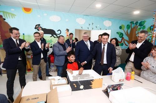 Ver de Olula amplía sus instalaciones gracias a las inversiones del PFEA y Diputación