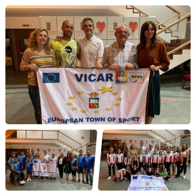 La Presentación Del Libro 'Cuatro Horas' abre La Semana Europea Del Deporte En Vícar