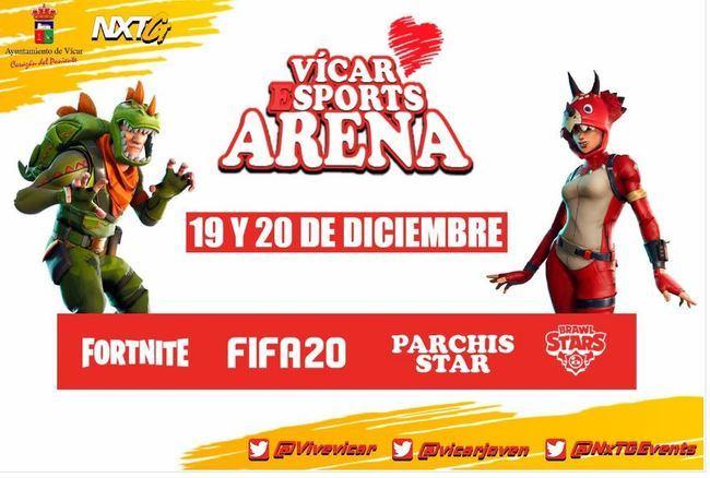 Vícar ESport Arena, Una Cita Con El Ocio Electrónico En Navidad