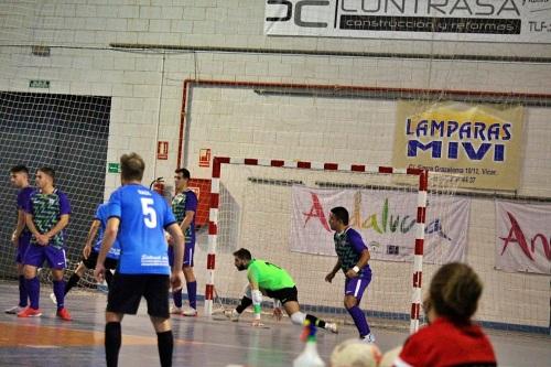 El CD Vícar FS Acaba Con La Imbatibilidad Del Málaga