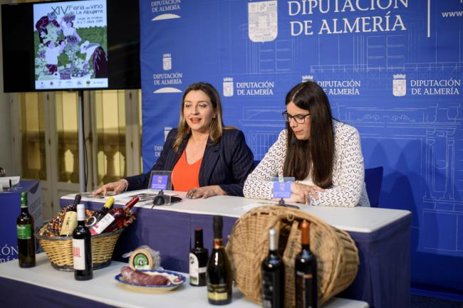 Diputación y 'Sabores Almería' consolidan su apoyo a XIV Feria del Vino de la Alpujarra