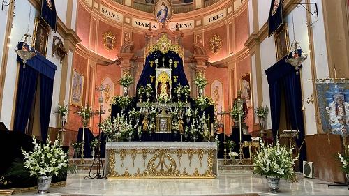 Berja celebra los cultos en honor a la Santísima Virgen de Gádor