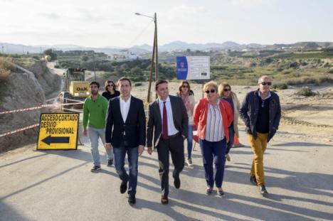 Diputación mejora las redes de agua, caminos rurales e infraestructuras del Levante