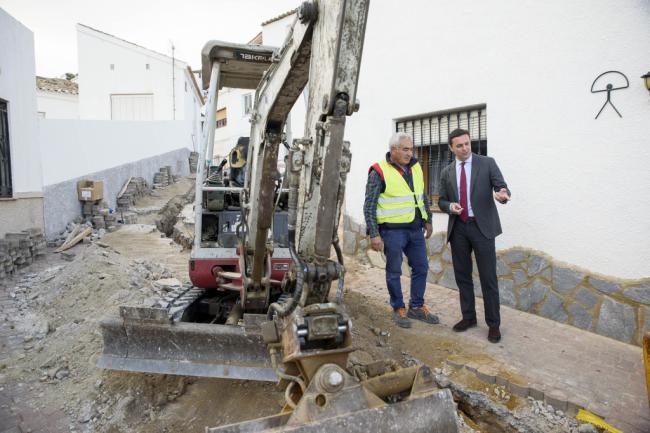 Diputación invierte un millón y medio de euros en mejorar infraestructuras
