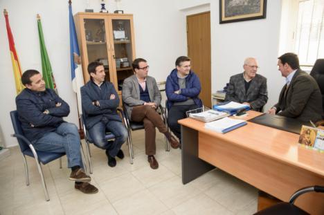 Diputación impulsa infraestructuras en Senés y Chercos para su desarrollo turístico e industrial
