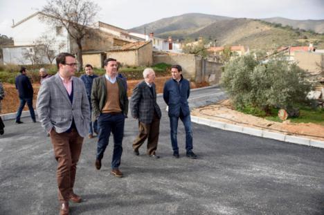 Diputación invierte 350.000 euros en la conexión de Chercos con Macael y Cóbdar