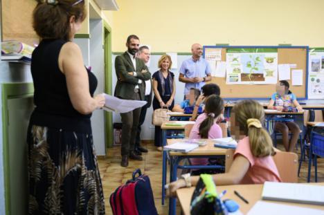 """El alcalde califica el CEIP Colonia Araceli """"ejemplo de inclusión"""""""