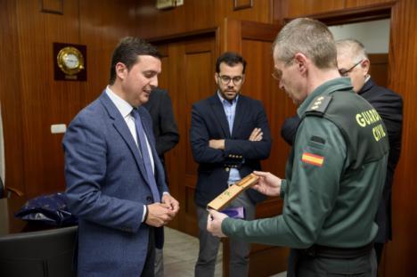 Diputación y Guardia Civil ultiman los actos del 175 aniversario del instituto armado