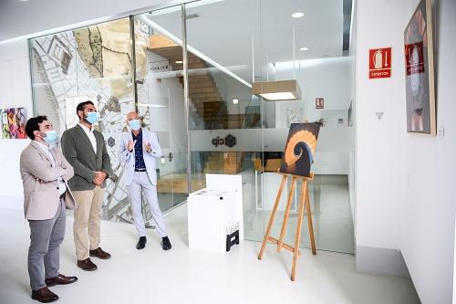 La exposición de Francisco Ortega en el CIP se amplía al 1 de noviembre