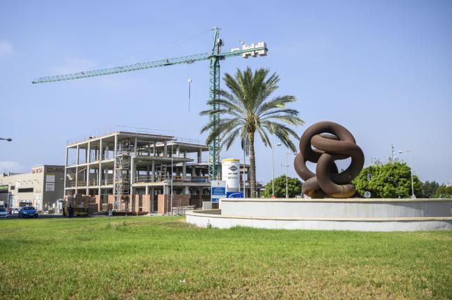Finalizada la estructura del nuevo edificio del Tercer Sector