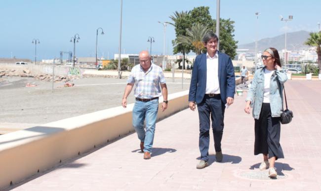 70.000 euros para acondicionamiento y nuevas infraestructuras en playas de Adra