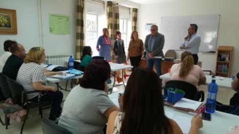 La Junta forma en atención sociosanitaria a 14 desempleados en Serón
