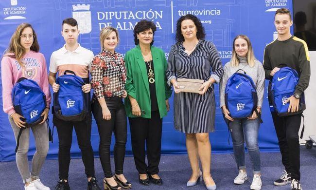 Cuatro jóvenes de Balanegra inician su 'sueño europeo' con la Diputación