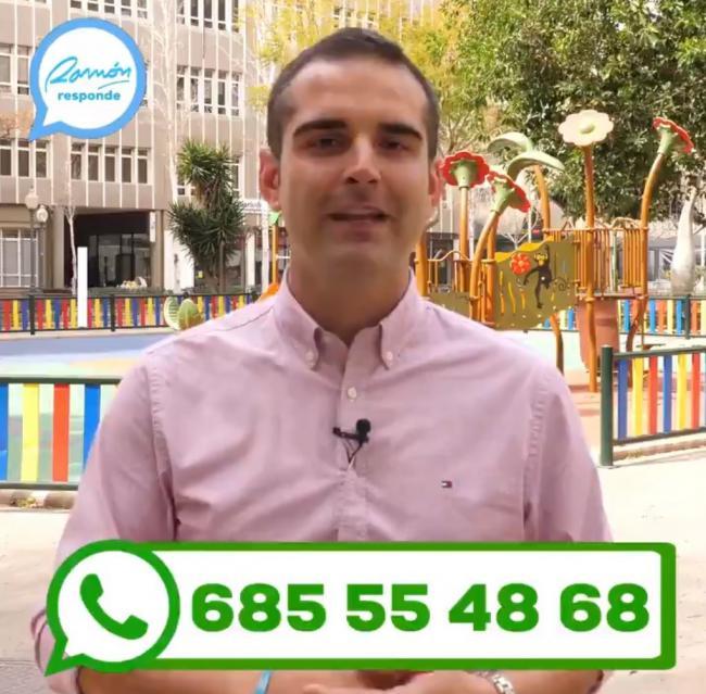 El alcalde de Almería abre un canal de wasap a los vecinos