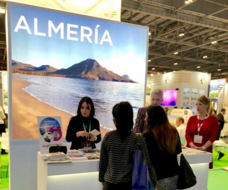 'Costa de Almería' se exhibe en la World Travel Market de Londres