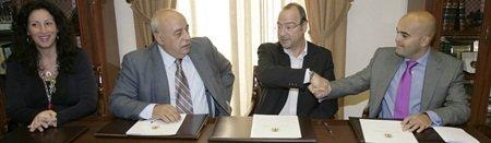 FAAM junto con el Ayuntamiento de Almería y Verdiblanca firman un convenio que potenciará un turismo universal