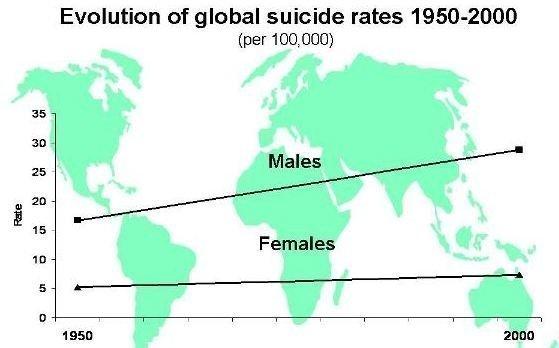 Un libro de Lorente manipula datos de suicidio para justificar su teoría sobre violencia de género