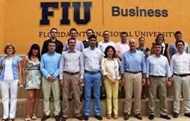 Empresarios de Almería acuden a Florida para asistir a un programa de formación