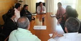 Miembros de la Iglesia Evangélica en el municipio realizan su primera visita oficial al nuevo equipo de El Ejido