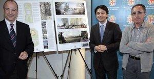 El alcalde presenta la Ciudad de los Niños, un parque de 95.000 m2 que se ubicará en el antiguo Recinto Ferial